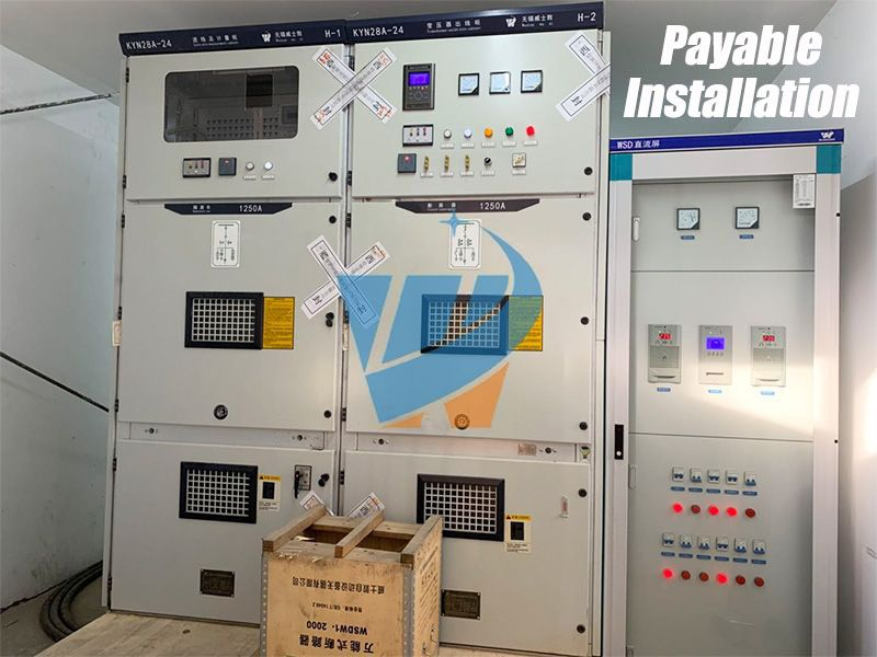 High Voltage Switch Cabinet