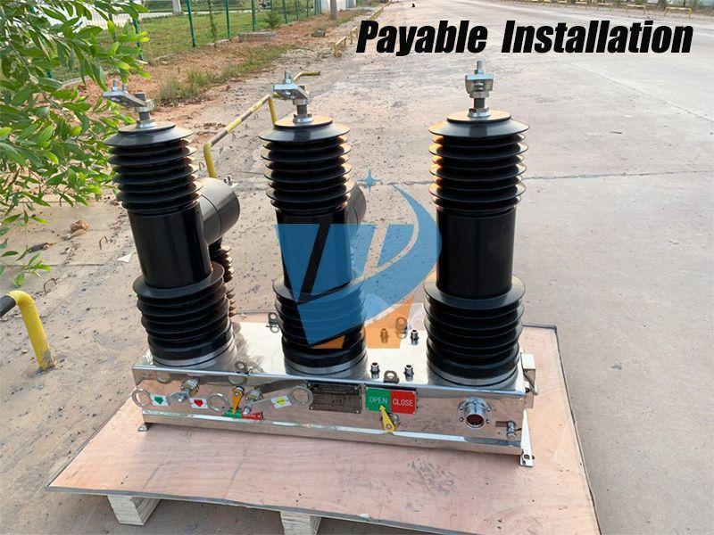 Outdoor Ac High Voltage Vacuum Circuit Breaker