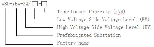 WSD-YBW series Prefabricated Substation